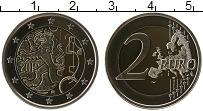 Изображение Монеты Финляндия 2 евро 2010 Биметалл Proof 150 лет введения в Ф