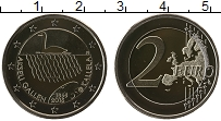 Изображение Монеты Финляндия 2 евро 2015 Биметалл Proof 150 лет финского худ
