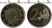 Изображение Монеты Финляндия 2 евро 2016 Биметалл Proof