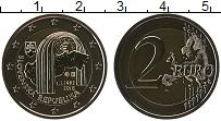 Изображение Монеты Словакия 2 евро 2018 Биметалл UNC