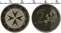 Продать Монеты Мальта 2 евро 2008 Биметалл