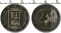 Изображение Монеты Мальта 2 евро 2018 Биметалл UNC