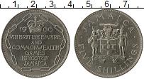 Изображение Монеты Ямайка 5 шиллингов 1966 Медно-никель UNC- VIII Игры содружеств