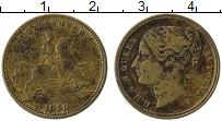 Изображение Монеты Великобритания Жетон 0 Латунь XF- Виктория