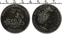 Изображение Монеты Гернси 5 фунтов 2008 Медно-никель UNC Елизавета II. Истори