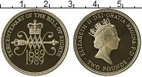 Изображение Монеты Великобритания 2 фунта 1989 Латунь Proof