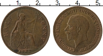 Изображение Монеты Великобритания 1/2 пенни 1935 Бронза XF Георг V