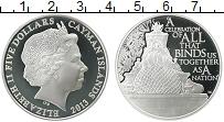Продать Монеты Каймановы острова 5 долларов 2013 Серебро