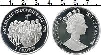 Изображение Монеты Остров Мэн 1 крона 1998 Серебро Proof