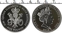 Изображение Монеты Тристан-да-Кунья 5 фунтов 2016 Серебро Proof