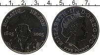 Изображение Монеты Великобритания 5 фунтов 2005 Медно-никель UNC