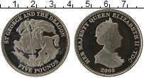 Изображение Монеты Тристан-да-Кунья 5 фунтов 2008 Медно-никель UNC