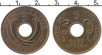 Продать Монеты Восточная Африка 5 центов 1964 Бронза