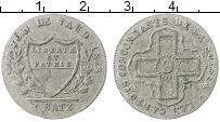 Продать Монеты Вауд 1 батзен 1828 Серебро