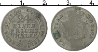 Продать Монеты Саксен-Кобург-Саалфелд 1/12 талера 1764 Серебро