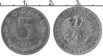 Изображение Монеты Австрия 5 грош 1991 Цинк UNC-