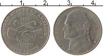 Изображение Монеты США 5 центов 2004 Медно-никель XF Р. 200 лет Экспедици