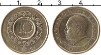 Изображение Монеты Норвегия 10 крон 1991 Латунь XF