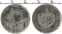 Изображение Монеты Куба 25 сентаво 1998 Медно-никель XF