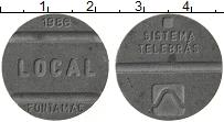 Изображение Монеты Бразилия Жетон 1986 Цинк XF