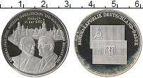 Изображение Монеты Германия Жетон 0 Посеребрение Proof- Встреча Михаил Горба