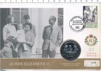 Изображение Подарочные монеты Гибралтар 1 крона 2005 Медно-никель UNC