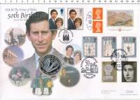 Изображение Подарочные монеты Великобритания 5 фунтов 1998 Серебро Proof