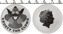 Изображение Монеты Тувалу 1 доллар 2020 Серебро Proof