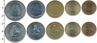 Изображение Наборы монет Мьянма 100 кьят 1999 Медно-никель XF