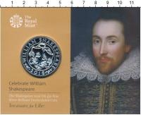Изображение Подарочные монеты Великобритания 50 фунтов 2016 Серебро UNC