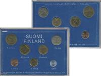 Изображение Подарочные монеты Финляндия Набор 1975 года 1975  UNC
