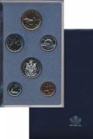 Изображение Подарочные монеты Канада Набор монет 1990 года 1990 Медно-никель Proof