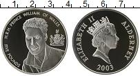 Изображение Монеты Олдерни 5 фунтов 2003 Серебро Proof