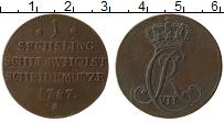 Изображение Монеты Германия Шлезвиг-Гольштейн 1 сешлинг 1787 Медь XF