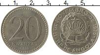 Изображение Монеты Ангола 20 кванза 1978 Медно-никель XF