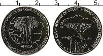Изображение Монеты Западная Африка 1500 франков 2003 Медно-никель UNC