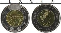 Изображение Монеты Канада 2 доллара 2018 Биметалл UNC