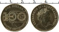 Изображение Мелочь Австралия 1 доллар 2020 Латунь UNC