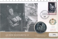 Изображение Подарочные монеты Гибралтар 1 крона 2005 Медно-никель Proof