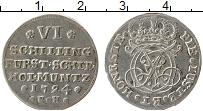Изображение Монеты Шлезвиг-Гольштейн 6 шиллингов 1724 Серебро XF