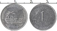 Изображение Монеты Куба 1 сентаво 1988 Алюминий XF Интур