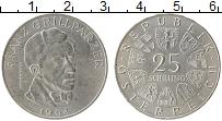 Изображение Монеты Австрия 25 шиллингов 1964 Серебро XF
