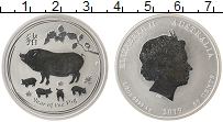 Изображение Монеты Австралия 50 центов 2019 Серебро Proof- Елизавета II. Год Св