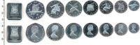 Изображение Наборы монет Остров Мэн Набор 1979 года 1979 Серебро Proof-