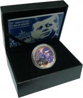 Изображение Подарочные монеты Самоа 5 долларов 2013 Серебро Proof