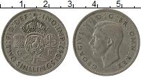 Изображение Монеты Великобритания 2 шиллинга 1947 Медно-никель XF Георг VI