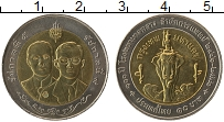 Изображение Монеты Таиланд 10 бат 1998 Биметалл UNC 100 лет Главной цент