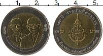 Изображение Монеты Таиланд 10 бат 2004 Биметалл UNC