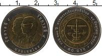 Изображение Монеты Таиланд 10 бат 2005 Биметалл UNC