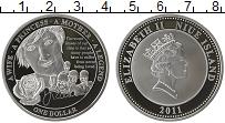 Изображение Монеты Ниуэ 1 доллар 2011 Посеребрение Proof Елизавета II. Принце